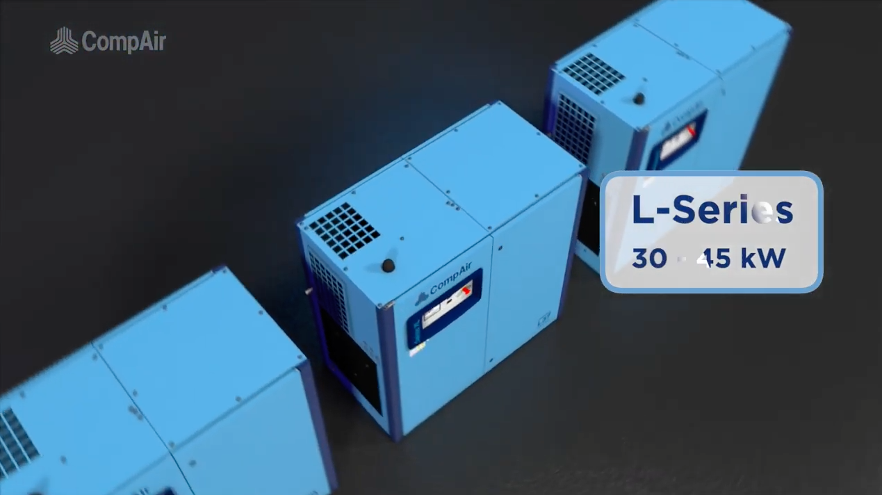 CompAir L Series L30 to L45RS Frame 3 Video English