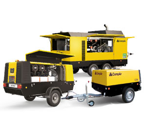 Portable Air Compressors from CompAir
